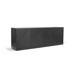 Black Is Black | Fade To Black Sideboard | Credenze | CRISTINA JORGE DE CARVALHO COLLECTIONS