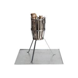 Fire Basket | Plate Firebasket Original & Urban 50/70 | Paniers à feu | Röshults