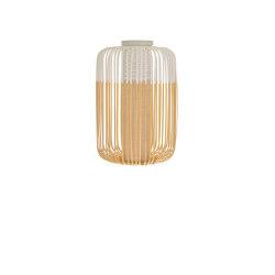 Bamboo | Ceiling Lamp | L White | Lámparas de techo | Forestier