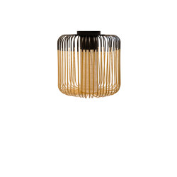 Bamboo | Ceiling Lamp | M Black | Ceiling lights | Forestier