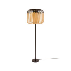 Bamboo | Floor Lamp | Black | Free-standing lights | Forestier