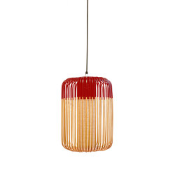 Bamboo | Pendant Lamp | L Red | Outdoor | Outdoor pendant lights | Forestier