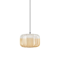 Bamboo | Pendant Lamp | S White | Outdoor | Lampade outdoor sospensione | Forestier