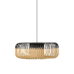Bamboo | Pendant Lamp | XL Black | Suspended lights | Forestier