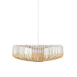 Bamboo Up | Pendant Lamp | Up XXL White | Suspended lights | Forestier