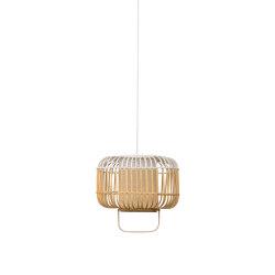 Bamboo-Square | Pendant Lamp | Square S White | Lámparas de suspensión | Forestier