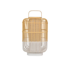 Bamboo-Square | Table Lamp |-Square L White | Table lights | Forestier
