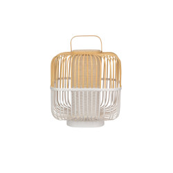 BAMBOO-square   LAMPE   M blanc   Luminaires de table   Forestier