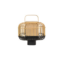 Bamboo-Square | Table Lamp |-Square S Black | Table lights | Forestier
