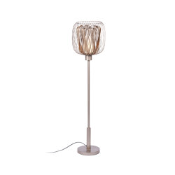 Bodyless | Floor Lamp | S Taupe/Champagne | Free-standing lights | Forestier