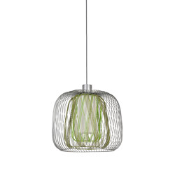 Bodyless | Pendant Lamp | L Green | Suspended lights | Forestier