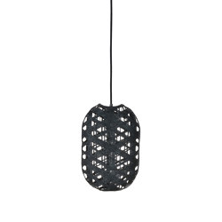 Capsule | Pendant Lamp | S Black | Suspended lights | Forestier