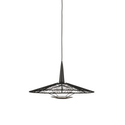 Carpa | Pendant Lamp | M Black | Suspended lights | Forestier