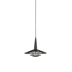 Carpa | Pendant Lamp | S Black | Suspended lights | Forestier