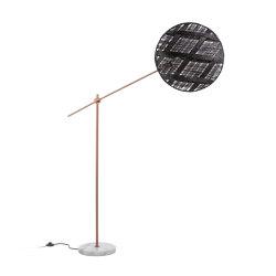 Chanpen | Floor Lamp | L Copper/Black | Free-standing lights | Forestier