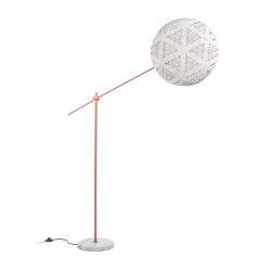 Chanpen | Floor Lamp | L Copper/White | Free-standing lights | Forestier