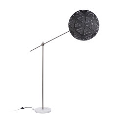 Chanpen | Floor Lamp | L Metal/Black | Free-standing lights | Forestier