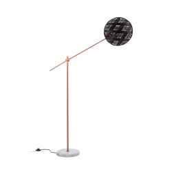 Chanpen | Floor Lamp | M Copper/Black | Lámparas de pie | Forestier