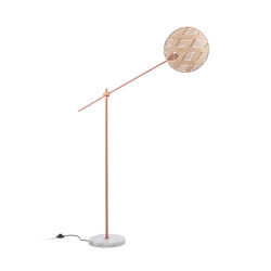 Chanpen | Floor Lamp | M Copper/Natural | Free-standing lights | Forestier