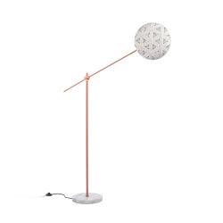 Chanpen | Floor Lamp | M Copper/White | Free-standing lights | Forestier