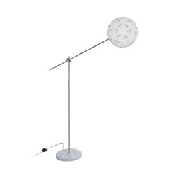Chanpen | Floor Lamp | M Metal/White | Free-standing lights | Forestier