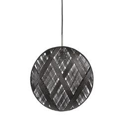 Chanpen | Pendant Lamp | L Black | Suspended lights | Forestier