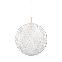 Chanpen | Pendant Lamp | L White | Suspended lights | Forestier
