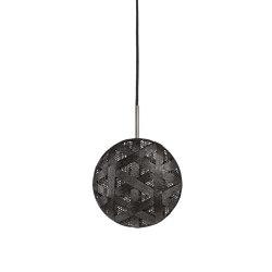 Chanpen | Pendant Lamp | S Black | Suspended lights | Forestier