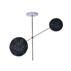 Chanpen   Pendant Lamp   S Gun Metal   Suspended lights   Forestier