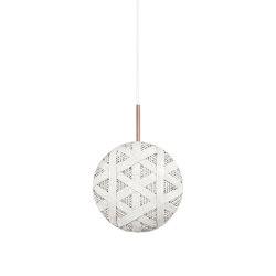 Chanpen | Pendant Lamp | S White | Suspended lights | Forestier