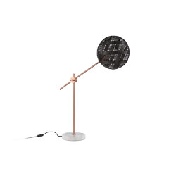 Chanpen | Table Lamp | M Copper/Black | Table lights | Forestier