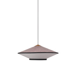 Cymbal | Pendant Lamp | M Powder Pink | Suspended lights | Forestier