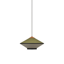 Cymbal | Pendant Lamp | S Evergreen | Suspended lights | Forestier
