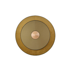Cymbal | Wall Lamp | L Bronze | Wall lights | Forestier