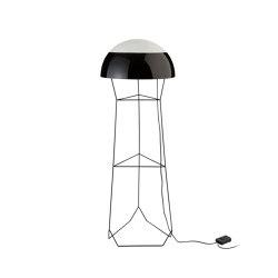 DOM | LAMPADAIRE | noir | Luminaires sur pied | Forestier