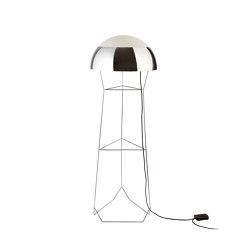 Dom | Floor Lamp | Chrome | Standleuchten | Forestier