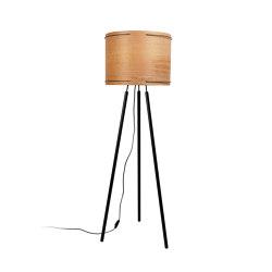 Double Wire | Floor Lamp | Wood | Standleuchten | Forestier