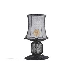 KNITTED | LAMPE | noir | Luminaires de table | Forestier