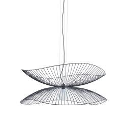 Libellule | Pendant Lamp | L Black | Suspended lights | Forestier