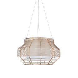 Mesh | Pendant Lamp | L Champagne | Lámparas de suspensión | Forestier