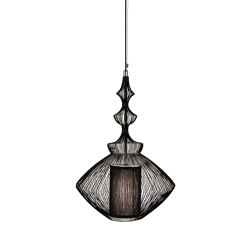Opium | Pendant Lamp | Black | Suspended lights | Forestier