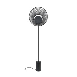 Oyster | Floor Lamp | Black | Free-standing lights | Forestier