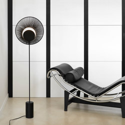 Oyster   Floor Lamp   Black   Free-standing lights   Forestier