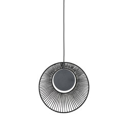 Oyster | Pendant Lamp | Black | Suspended lights | Forestier