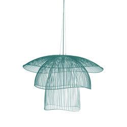 Papillon | Pendant Lamp | L Blue Grey | Suspended lights | Forestier