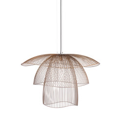 Papillon | Pendant Lamp | L Champagne | Suspended lights | Forestier