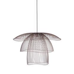 Papillon | Pendant Lamp | L Pink Copper | Suspended lights | Forestier