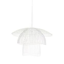 Papillon | Pendant Lamp | L White | Suspended lights | Forestier
