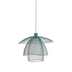 Papillon | Pendant Lamp | S Blue Grey | Suspended lights | Forestier