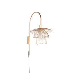 Papillon | Wall Lamp | XS Champagne | Wall lights | Forestier